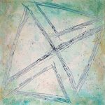 painting Triangles, Squared by Joe Banish
